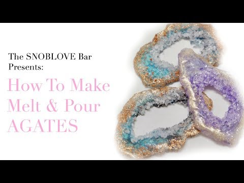How to make Melt & Pour Soap Agates