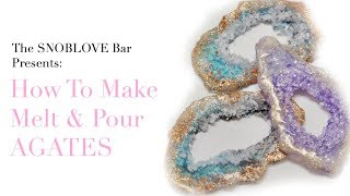 How to make Melt & Pour Soap Agates