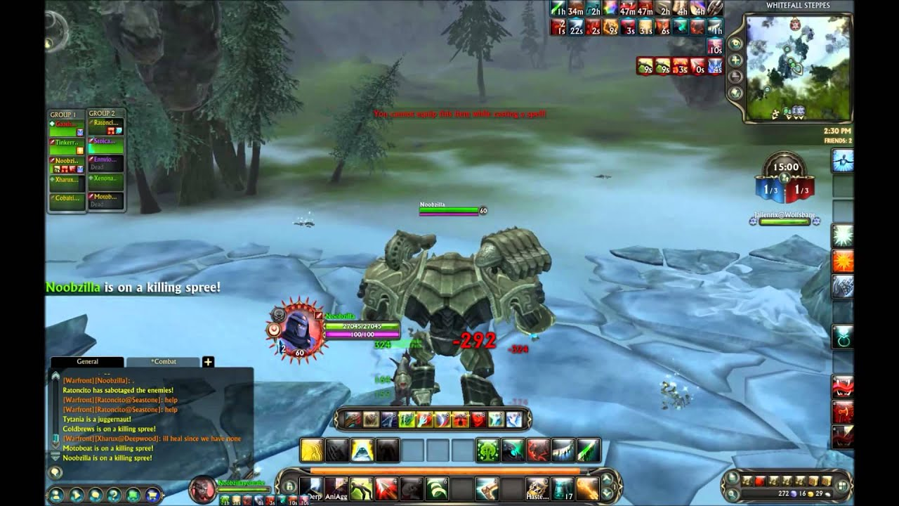 Rift Rogue Ranger PvP in Whitefall Steppes   F2P MMORPG PvP