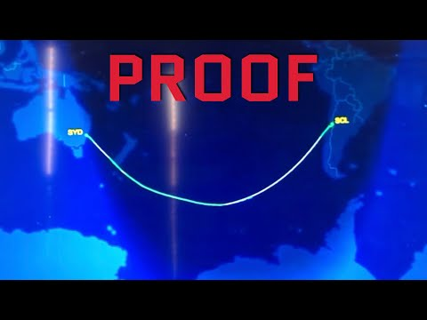 THE FLIGHT THAT SHOWS PROOF of FLAT EARTH thumbnail