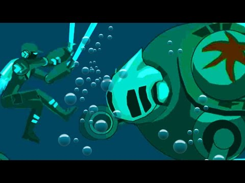 UNDERWATER ROBOT BATTLE - Happy Wheels - Episode 27