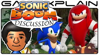 Sonic Boom Wii U & 3DS Guest Discussion featuring Cobanermani456
