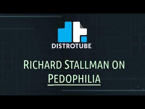 Richard Stallman on Pedophilia