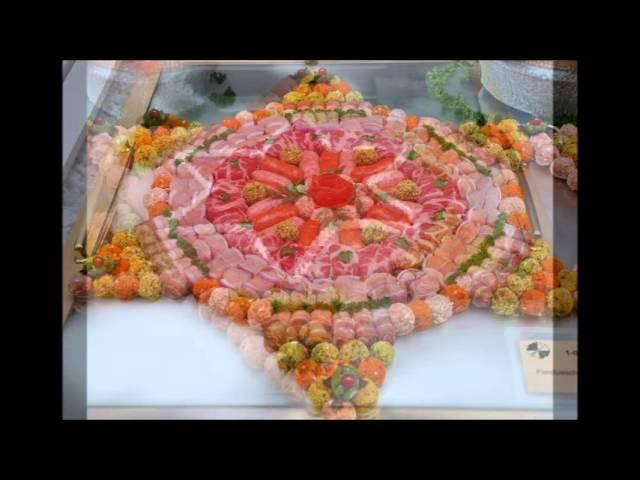idees plat de viande buffet froid
