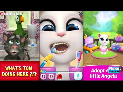My Talking Angela Talking Pierre the Parrot Android İos Free Game ...