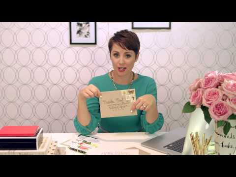 Mailing Wedding Invitations - Tips & Advice from YouTube · Duration:  1 minutes 20 seconds