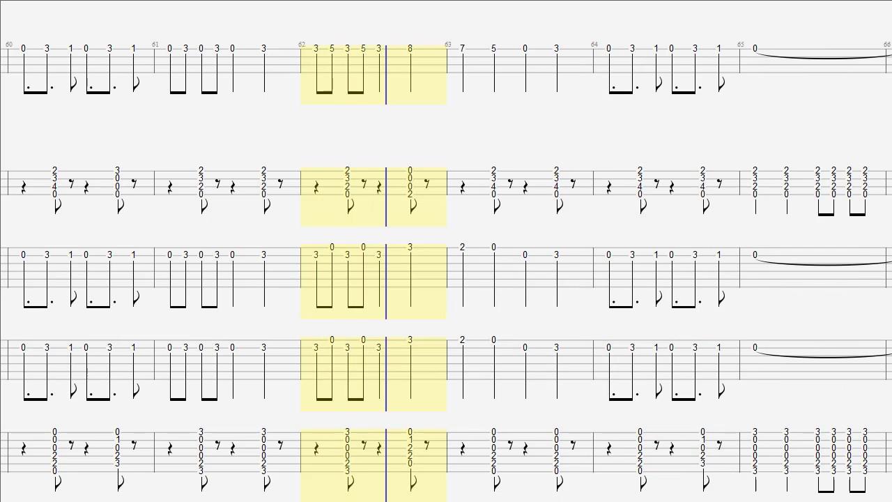 Guitar Ensemble Ride Tab And Chords Youtube