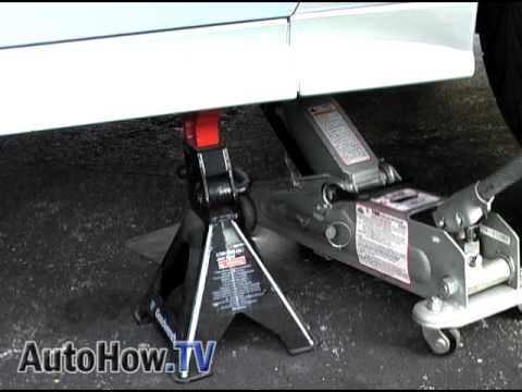 How To Raise Or Lift Your Car Onto Jack Stands Autohow Tv