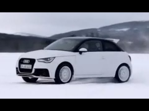 Audi A1 Quattro on snow (Motorsport)
