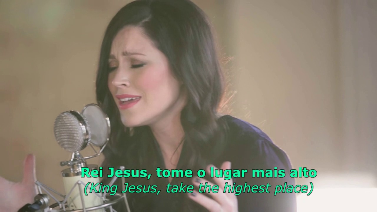 Oh The Power Kari Jobe Legendado Em Português Lyrics Youtube
