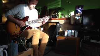 Lazy J 20 Arrival - First Test Run (with Gibson es335 63')