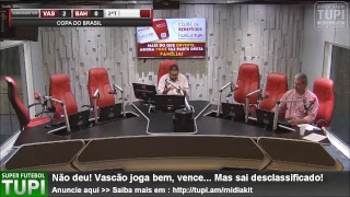 Vasco 2 x 0 Bahia - Oitavas de Final - Copa do Brasil - 16/07/2018 - AO VIVO