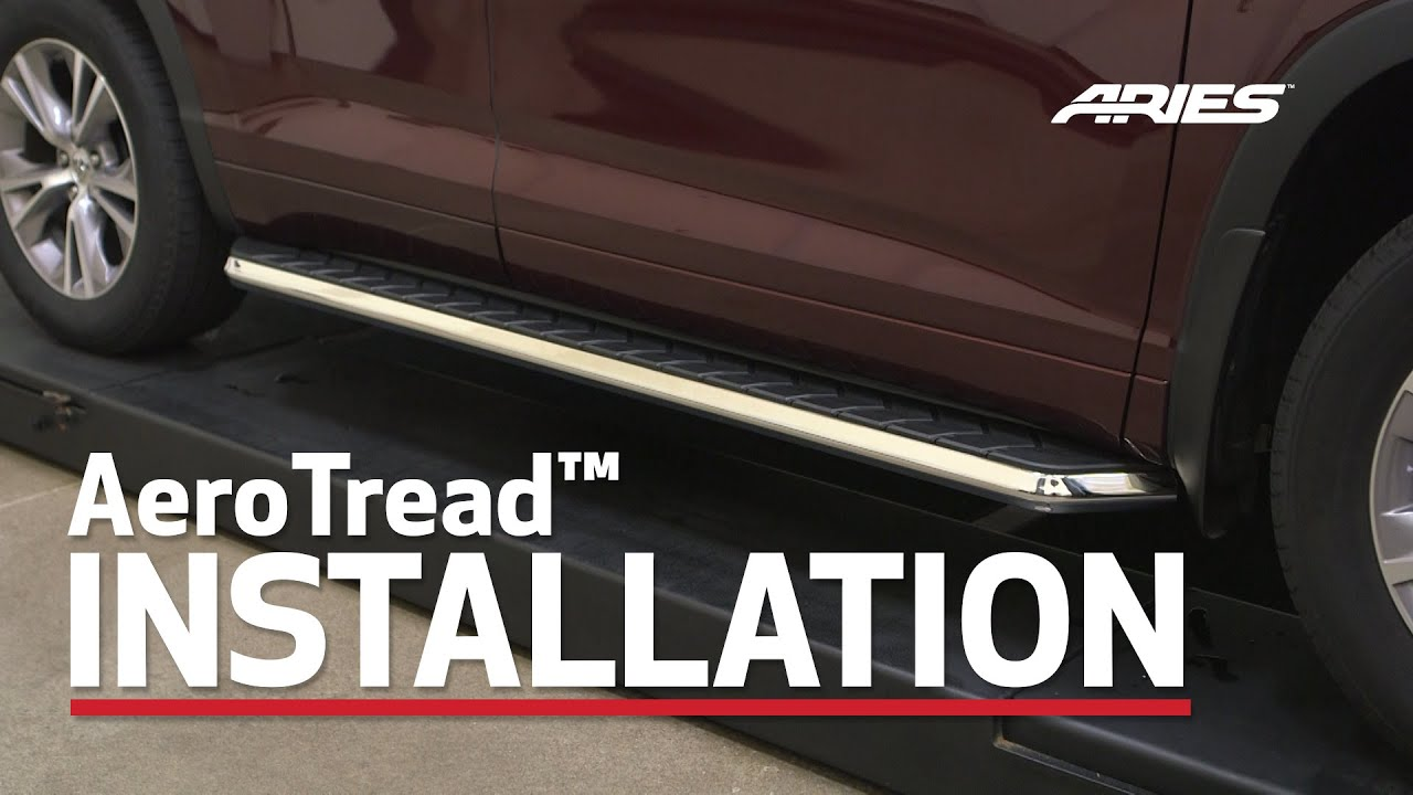 Aries Aerotread Install 70 Quot Running Boards On Toyota