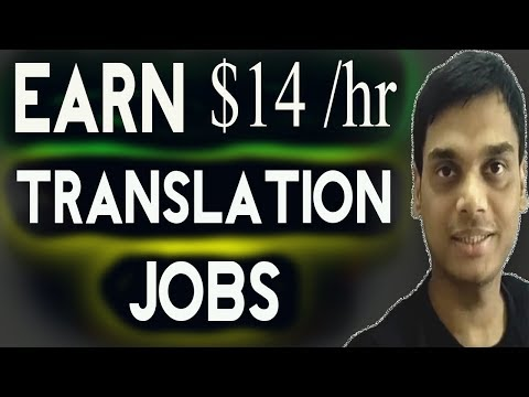 Earn from Translation jobs Explained | Translators jobs for all languages | Hindi