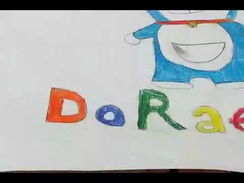Đây là cách vẽ Đoraemon đơn giản của mình