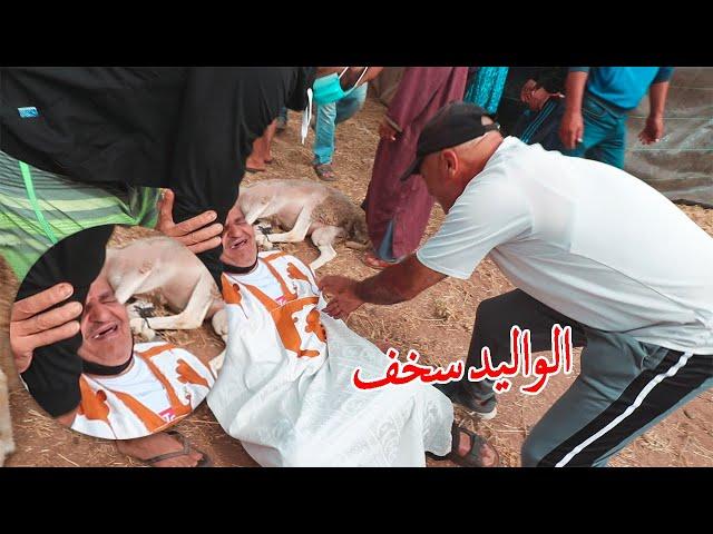 مشينا نشريو الحاولي ديال عيد الاضحى وهرب لينا بسباب الواليد هههه