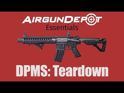 Crosman DPMS SBR: How to Field Strip or Tear Down the DPMS