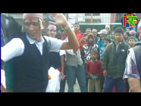 mayur nach मयुर युबा कलब रुंघा रुकुम  short brake dance by devdut pariyar  Ramailo Rapti