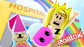 WE STOLE A BABY FROM THE HOSPITAL! 👶| ROBLOX | MeepCity