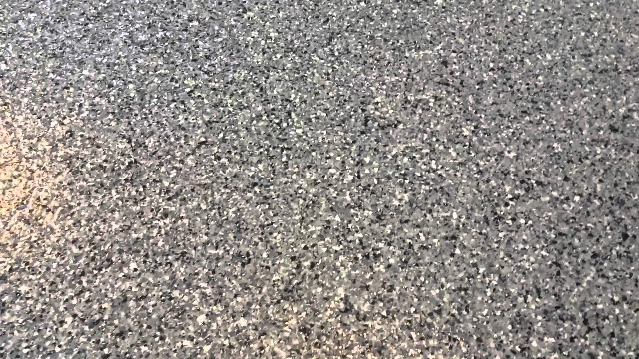 ECS Cost Cob CT Epoxy Flake Garage Floor