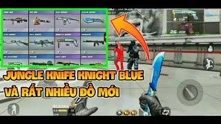 CF Mobile | Xuất Hiện Jungle Knife Knight Blue Và Rất Nhiều Đồ Mới Ở Bản Update Tiếp Theo