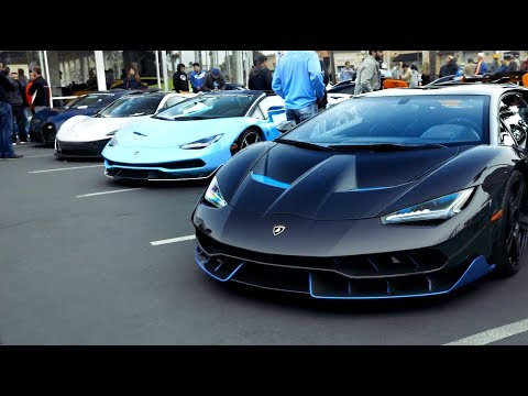 Download Lamborghini Newport Beach Supercar Show Januray 5 2019 Mp3