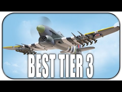 War Thunder | Best Tier 3 Premium Plane to buy | Typhoon Mk 1b