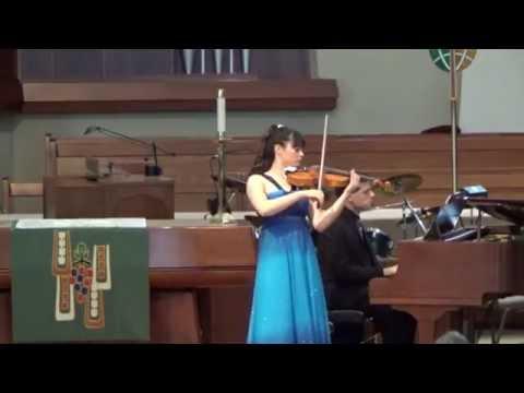 P. Tchaikovsky: Waltz-Scherzo, Op. 34 - Annelle K. Gregory, violin