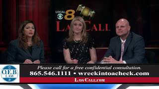 3/25/2018 - What Is The Reasonable Persons Standard? - Knoxville, TN - LawCall - Legal Videos