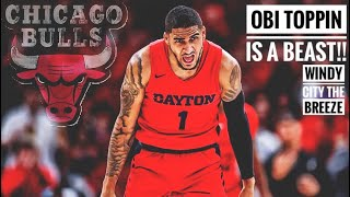 Obi Toppin Is A Beast!! Should the Bulls Draft Him At 4 ?