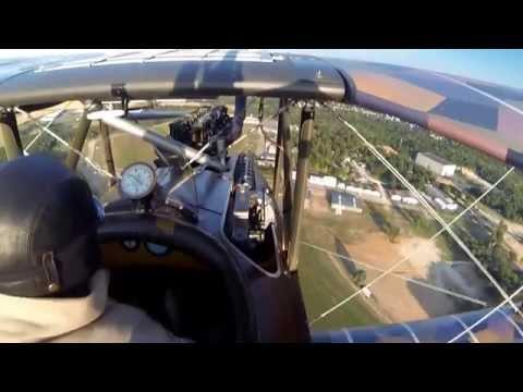 LVG C.VI in Flight