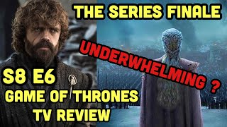 GAME OF THRONES: Season 8 Episode 6 Recap/Review LIVE | Series Finale Review