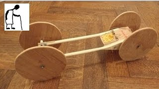 Bargain Store Project #37 Wooden Kitchen Utensils to Rubberband or Mousetrap Car