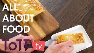 All About Food – Frangipane Pear Tart