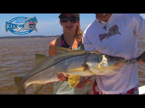 Beautiful Girl Fishing - Fort Myers Traditional Snook Fishing - Cape Coral Travel Destination