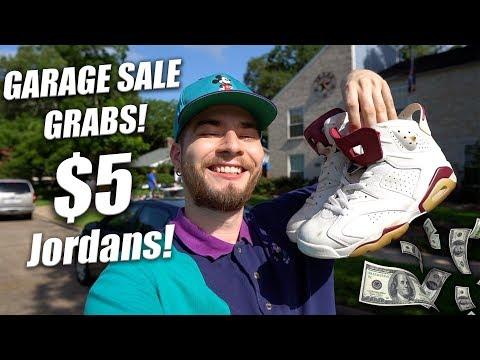 JORDAN 6s FOUND AT A GARAGE SALE! Garage Sale Grabs #13