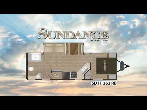 2018 Sundance 262RB Travel Trailer Walk Through with Rob Reid