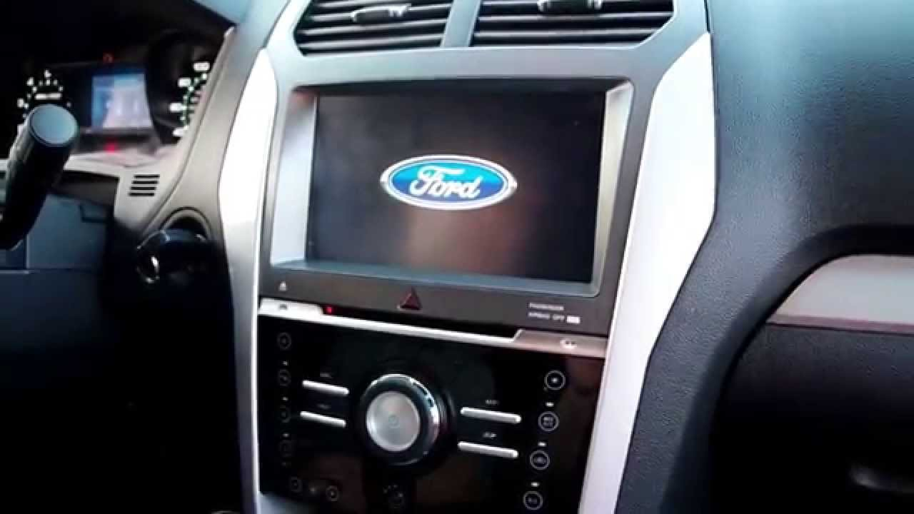 Sony Aftermarket Radio Wiring Diagram 02 International 4300 Using The Radio-upgrade.com Ford Explorer Gps Navigation - Youtube