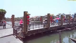 ЗАСТЫВШИЙ во ВРЕМЕНИ город ХОЙАН ДАНАНГ на мопеде Дешевый Пляжный Поселок во Вьетнаме Vlog VIETNAM