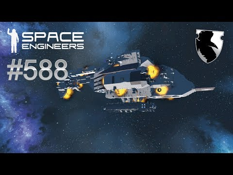 Space Engineers Survival :: SALVAGE TUG :: Ep. 588