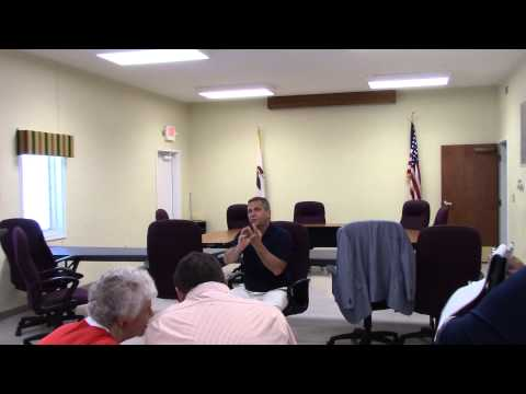 Bost, Union County Listening Tour, City Hall, Anna, IL, 03 August 2015