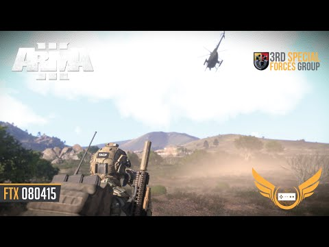ARMA 3 ▶︎ 1st Battalion, 3rd Special Forces Group - FTX 080415 [Milsim Gaming]