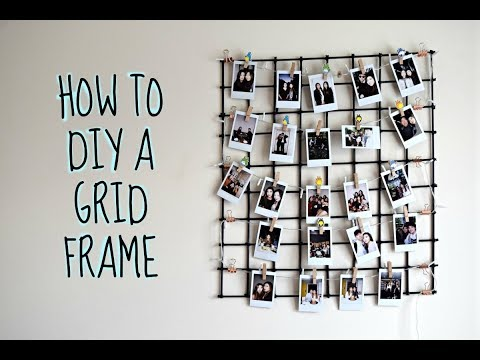 DIY Grid Frame Tutorial