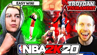 Troydan invited me to his $2000 NBA 2K20 tournament, AND I WON.