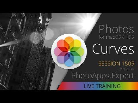 Apple Photos; CURVES — PhotoApps.Expert Live Training 1505 SAMPLE