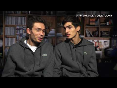 Backstage Pass: Nicolas Mahut And Pierre-Hugues Herbert