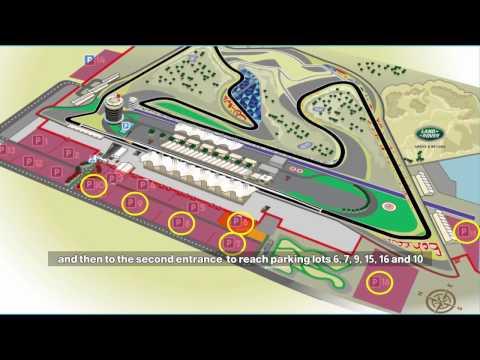 الخطة المرورية لضمان انسياب الحركة المرورية خلال منافسات الفورمولا 1 Bahrain#