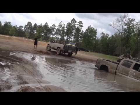 Stuck Duramax at the Taylor County Boondocks