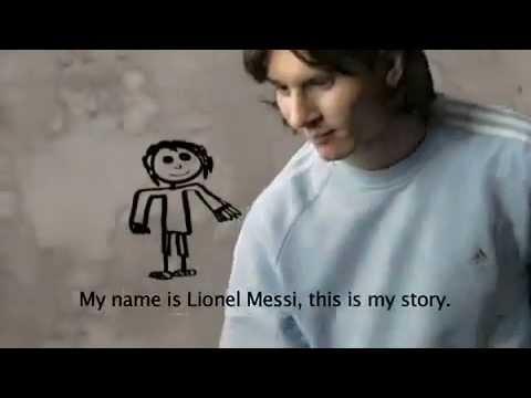 Hacer la cena Gigante dormir  Lionel Messi Adidas Impossible Is Nothing