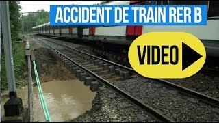 Accident de train RER B St Rémy les Chevreuse